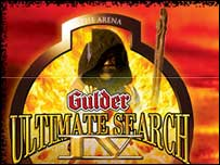 Nigeria's Gulder Ultimate Search logo