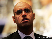Saif al-Islam Gaddafi (20 May 2005)