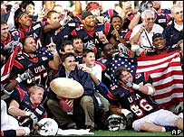 US American football team
