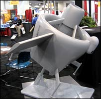 Aurora's GoldenEye 80, scale model