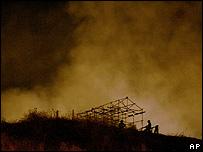 Cinecittà en llamas