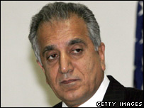 The US Ambassador to Iraq, Zalmay Khalilzad 