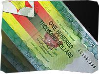 Zimbabwe - One Hundred Thousand Dollar Note