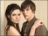 David (Nicholas Hoult) and girlfriend Gail (Emer Kenny)