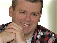 Mark Haddon, photographed by Nigel Barklie