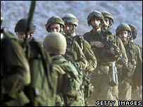 Israeli soldiers during the Lebanon war