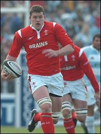 Wales lock Ian Evans