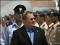 Israeli Defence Minister Ehud Barak - 31/07/2007