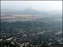 A view of Pyatigorsk