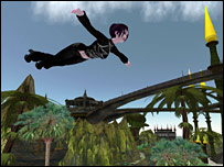 Second Life screen shot