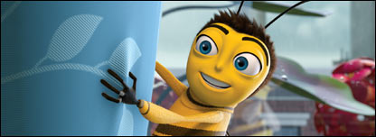Screenshot of Bee Movie