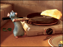 "Screenshot from 'Ratatouille,"" a Disney Pixar production. (AP Photo/Disney)"