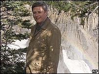 Primer ministro canadiense en el Ártico.