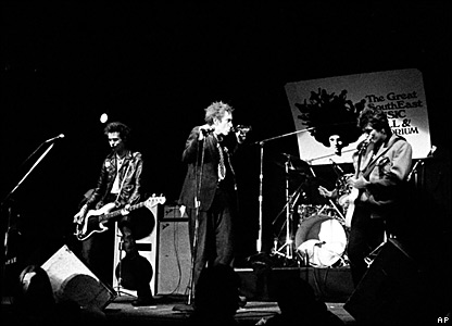 The Sex Pistols in Atlanta in 1978
