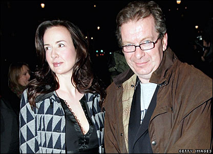 Yvette Livesey and Tony Wilson