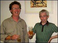 Declan Moore and Billy Quinn believe Bronze Age Irish men liked a beer