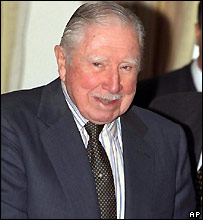 Augusto Pinochet - 1999 file photo
