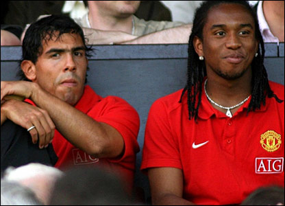 Carlos Tevez and Anderson