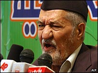 Adnan al-Dulaimi, leader of the Iraqi Accord Front, 12/8/07