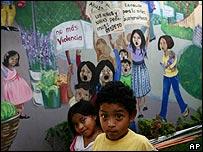 Niños en Guatemala