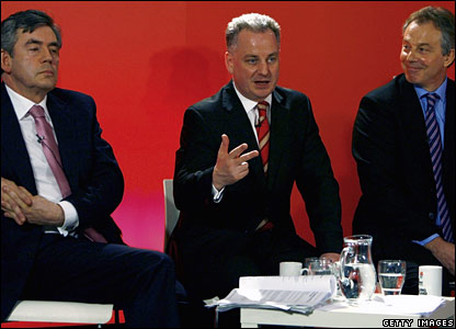 L to R: Gordon Brown, Jack McConnell and Tony Blair