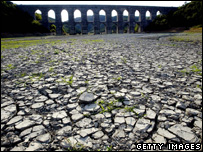 Parched soil in western Turkey (Getty Images)