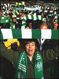 Celtic Park fans