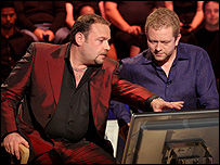 John Thompson and Jon Culshaw (courtesy of ITV)