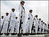 Pakistani naval cadets