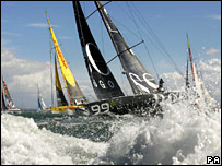 Start of Fastnet race