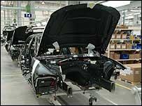 Ford car factory near Chennai