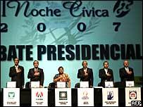 Debate de los candidatos a la Presidencia