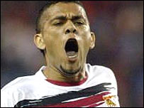 Sevilla defender Daniel Alves