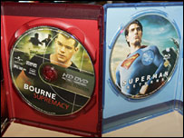 HD-DVD and Blu-ray movies