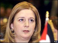 Suha Arafat. Photo: November 2000