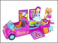 Mattel handout picture of Polly Pocket toy - undated