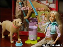 Barbie with Tanner (products recalled because of safety concerns)