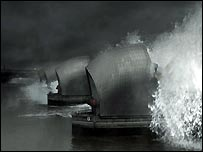 Thames Barrier: Still from the film, The Flood