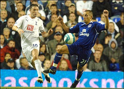 Robbie Keane and Leon Osman