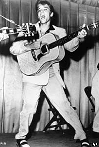 Elvis Presley in 1956