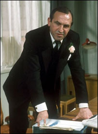 Reginald Perrin played by Leonard Rossiter