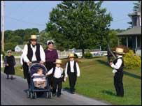 Семейство амишей