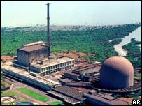 Bhabha Atomic Research Centre on the outskirts of Bombay