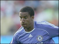 Chelsea winger Scott Sinclair
