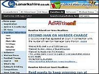 Hamilton Advertiser website