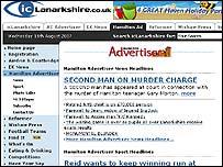 Hamilton Advertiser website