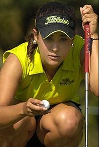Mar�a Jos� Uribe (Foto cortes�a de la golfista)