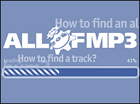 Logo of allofmp3.com