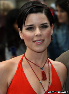 Actress Neve Campbell at the London premiere of the Bourne Ultimatum