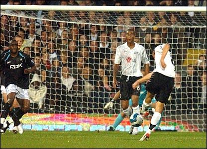 Alexey Smertin scores for Fulham